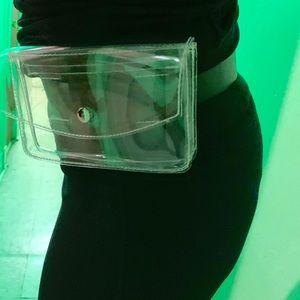 Target Clear Belt Bag